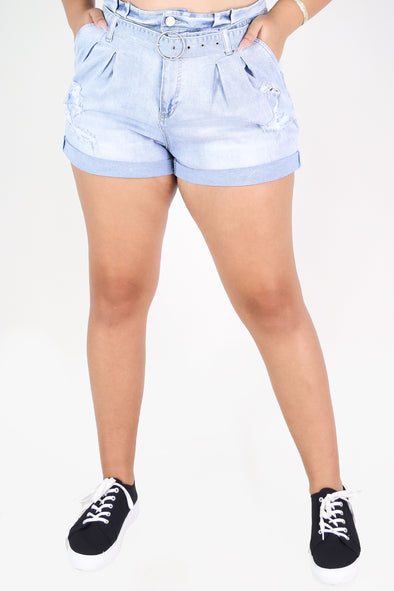 Jeans Warehouse Hawaii - PLUS Denim Shorts - KORA SHORTS | By SQUEEZE/MARAN INC.