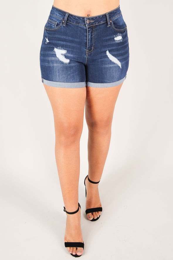 Jeans Warehouse Hawaii - PLUS Denim Shorts - JUST FOR YOU SHORTS | By WAX JEAN
