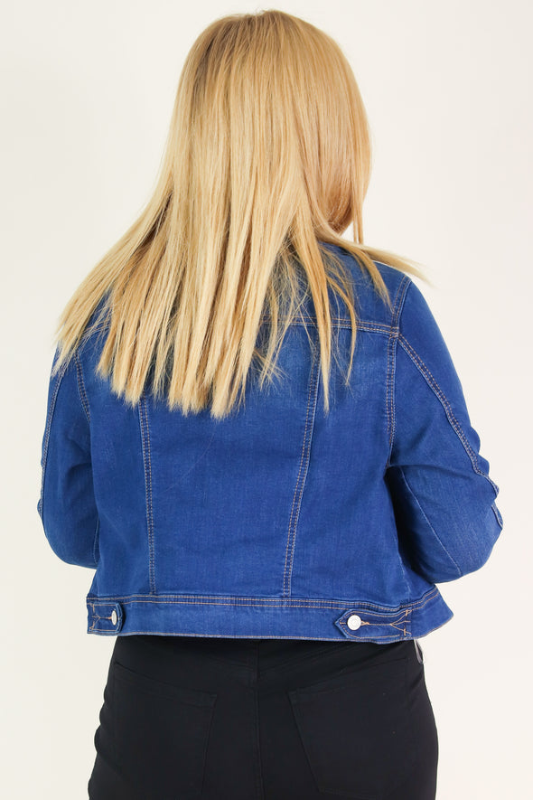 Jeans Warehouse Hawaii - PLUS DENIM JACKETS - IN MY FEELINGS JACKET | By WAX JEAN