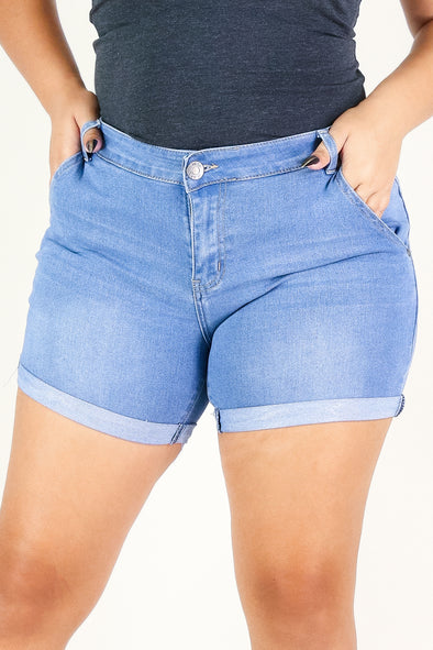 Jeans Warehouse Hawaii - PLUS Denim Shorts - SUGAR COATED SHORTS | By WESTERN TRADING