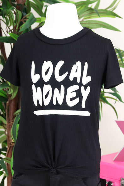 Jeans Warehouse Hawaii - S/S PRINT 7-16 - LOCAL HONEY TEE | 7-16 | By LUZ