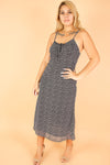 Jeans Warehouse Hawaii - PLUS PLUS WOVEN PRINT DRESSES - HALLOWAY DRESS | By BLUSH