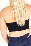 Jeans Warehouse Hawaii - PLUS BASIC BANDEAU TOPS - NO HESITATION BANDEAU | By ZENANA (KC EXCLUSIVE,INC