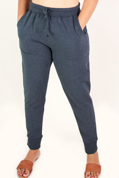 Jeans Warehouse Hawaii - PLUS Knit Pants - NONE OF YOUR CONCERN JOGGERS | By AMBIANCE APPAREL