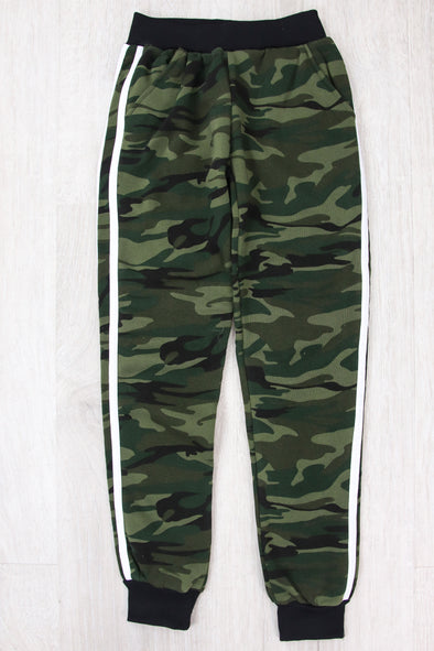 Jeans Warehouse Hawaii - BOTTOMS 7-16 - ONE AND ONLY CAMO JOGGERS | 7-16 | By GQWEAR INC