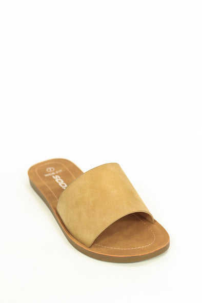 Jeans Warehouse Hawaii - FLATS SLIP ON - HASHTAG COMFY SLIDE | By FORTUNE DYNAMIC