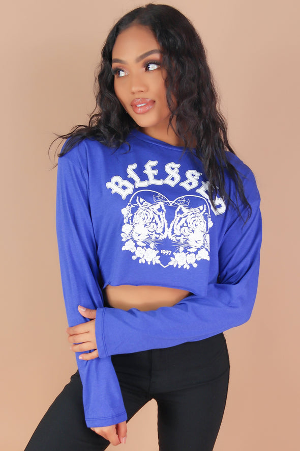 SINCERELY YOURS LONG SLEEVE TOP