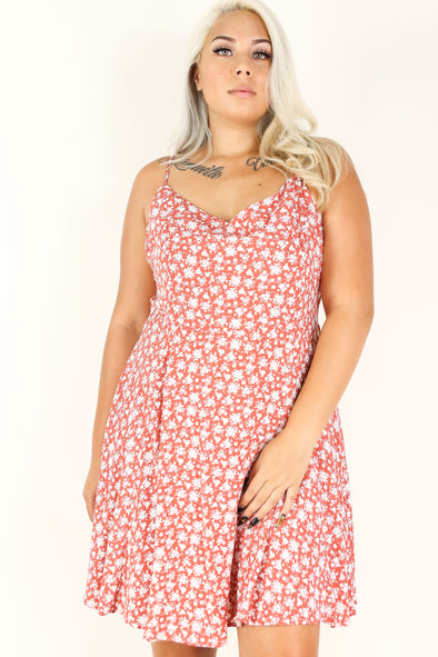 Jeans Warehouse Hawaii - PLUS PLUS WOVEN PRINT DRESSES - PUSH YOUR LUCK DRESS | By ZENOBIA