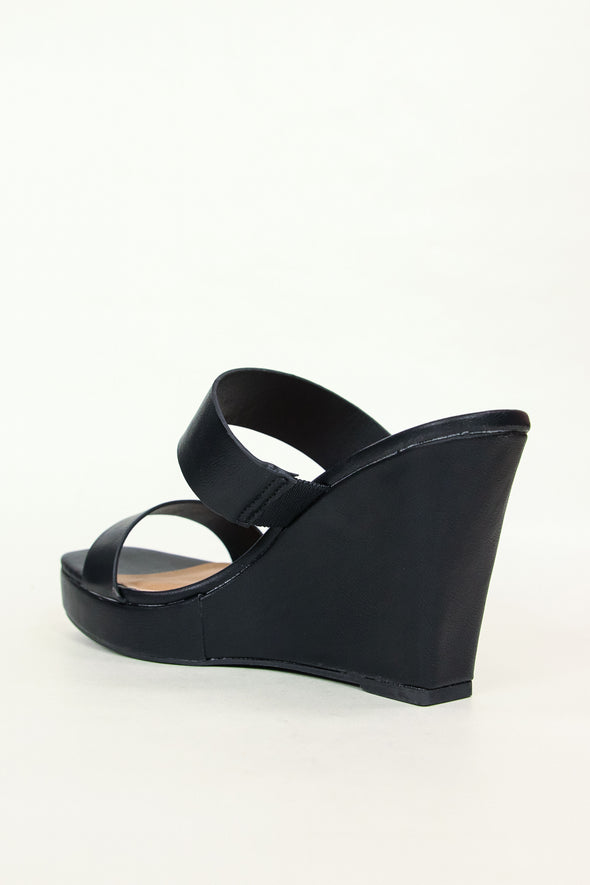 "Jeans Warehouse Hawaii - WEDGES OVER 3"" - SORRY NOT SORRY WEDGE 