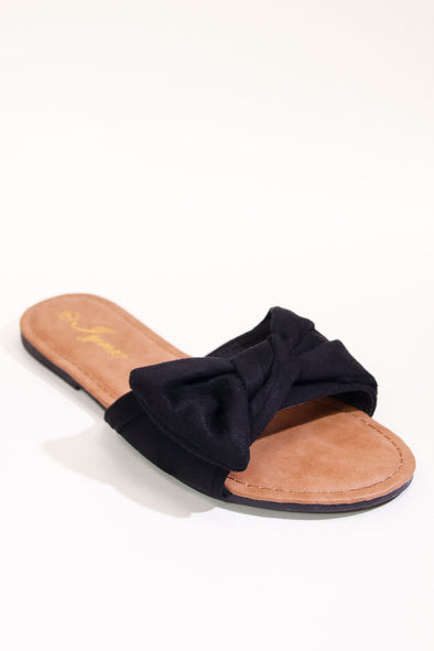 Jeans Warehouse Hawaii - FLATS SLIP ON - PERFECT BOW FLAT | By REDSHOELOVER LLC