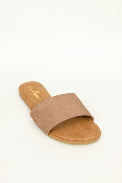 Jeans Warehouse Hawaii - FLATS SLIP ON - BUSY BEE SLIDE | By REDSHOELOVER LLC