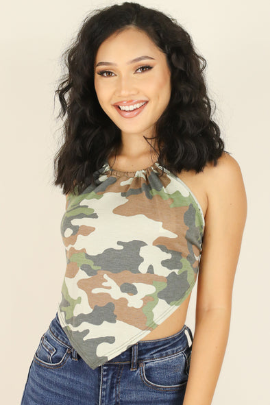 Jeans Warehouse Hawaii - SL PRINT - URBAN STYLE TOP | By PAPERMOON/ B_ENVIED