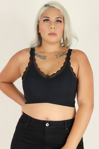Jeans Warehouse Hawaii - PLUS BASIC BANDEAU TOPS - LOVE GAME BRALETTE | By TALENT