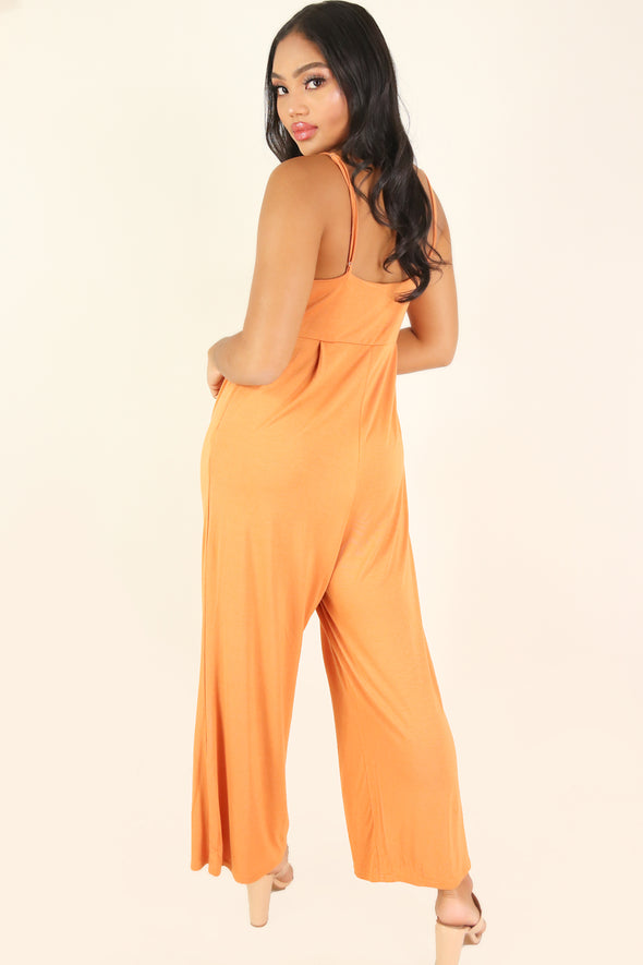 Jeans Warehouse Hawaii - SOLID CASUAL JUMPSUITS - SUNDAY UNIFORM JUMPSUIT | By ULTIMATE OFFPRICE