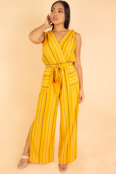 Jeans Warehouse Hawaii - PRINT CASUAL JUMPSUITS - TOTALLY AVAILABLE JUMPSUIT | By ULTIMATE OFFPRICE