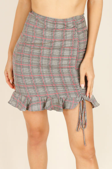 Jeans Warehouse Hawaii - WOVEN SHORT SKIRTS - ABOUT MY BUSINESS SKIRT | By EMORY PARK