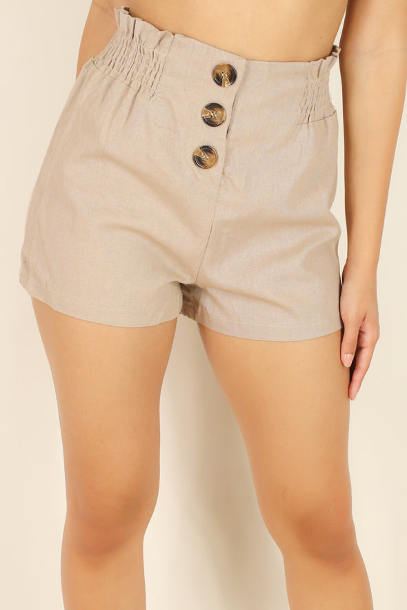 Jeans Warehouse Hawaii - SOLID WOVEN SHORTS - TRUE MATCH SHORTS | By HEART & HIPS