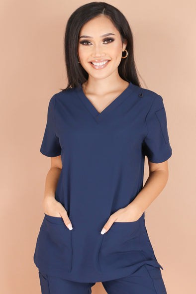 Jeans Warehouse Hawaii - JUNIOR SCRUB TOPS - HELPING HANDS SCRUB TOP | By MEDGEAR