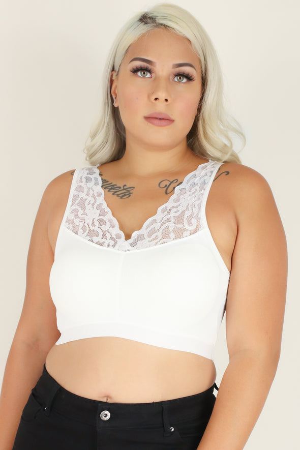 Jeans Warehouse Hawaii - PLUS BASIC BANDEAU TOPS - JUST A PEEK BRALETTE | By TALENT
