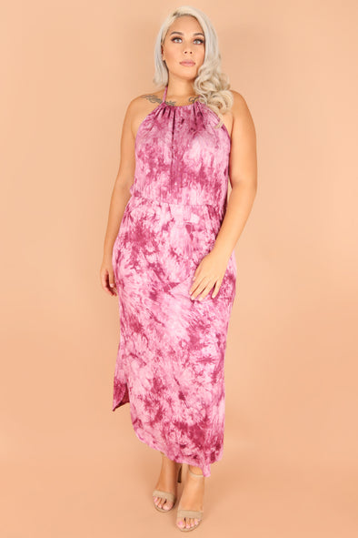 Jeans Warehouse Hawaii - PLUS PLUS KNIT PRINT DRESES - MOMENT TO REMEMBER DRESS | By ZENOBIA
