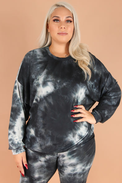 Jeans Warehouse Hawaii - PLUS 3/4 & L/S Knit Tops - CASUAL FRIDAY TOP | By VIVACE