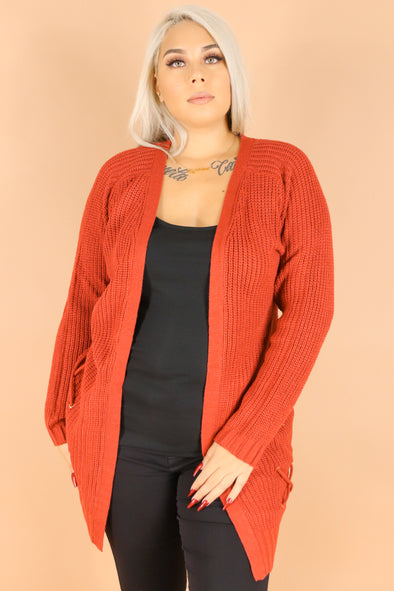 Jeans Warehouse Hawaii - PLUS SOLID LONG SLV CARDIGANS - LIVING COZY CARDIGAN | By ULTIMATE OFFPRICE