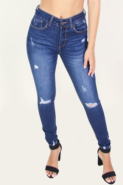 Jeans Warehouse Hawaii - JEANS - KARLIE BUTT-LIFT JEANS | By WAX JEAN
