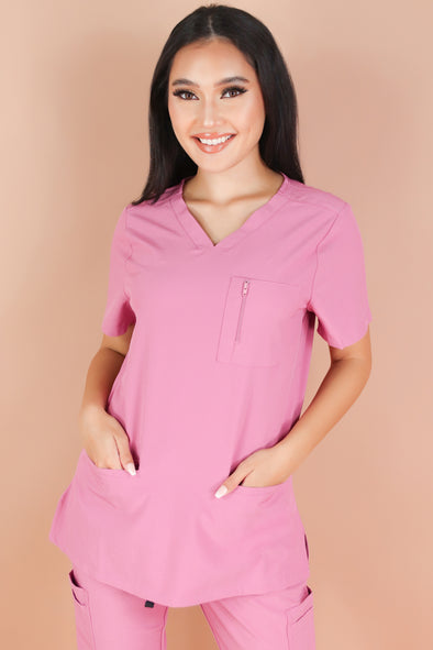 Jeans Warehouse Hawaii - JUNIOR SCRUB TOPS - BE PATIENT WITH ME SCRUB TOP | By MEDGEAR