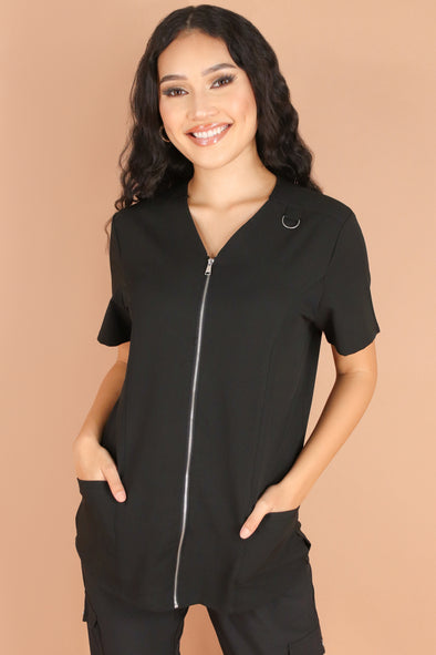Jeans Warehouse Hawaii - JUNIOR SCRUB TOPS - GRAVE SHIFT SCUB TOP | By MEDGEAR