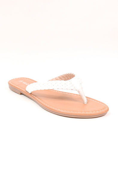 Jeans Warehouse Hawaii - BIG SIZE FLATS 9-12 - DEAL BREAKER SANDAL | SIZES 9-12 | By WELLS FOUNTAIN INC.