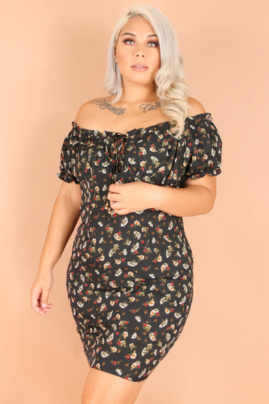 Jeans Warehouse Hawaii - PLUS PLUS WOVEN PRINT DRESSES - DINNER DATE DRESS | By TALENT