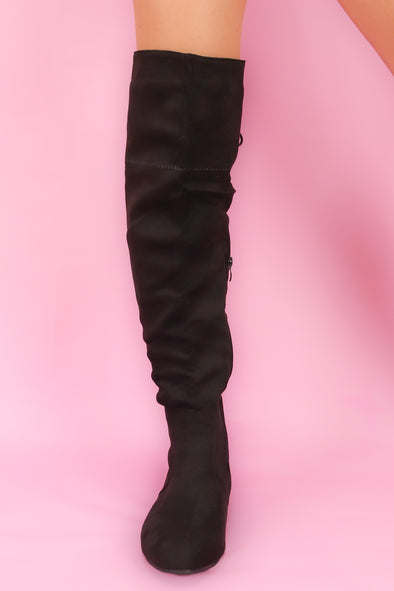 Jeans Warehouse Hawaii - BOOTS - SASSY KNEE-HIGH BOOT | By D&N SHOES INC.