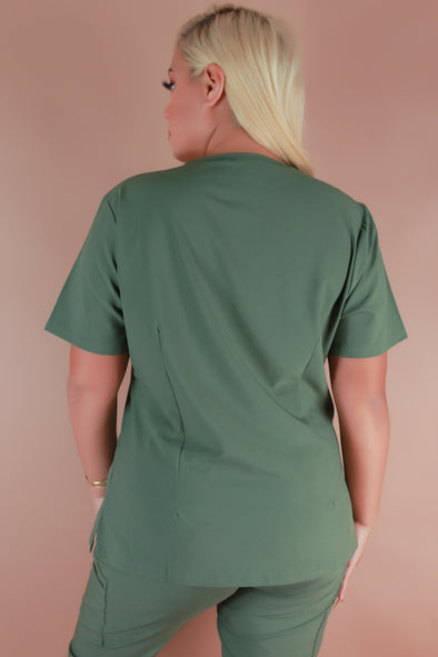 Jeans Warehouse Hawaii - JUNIOR SCRUB TOPS - LIFE IS GOOD SCRUB TOP | By MEDGEAR