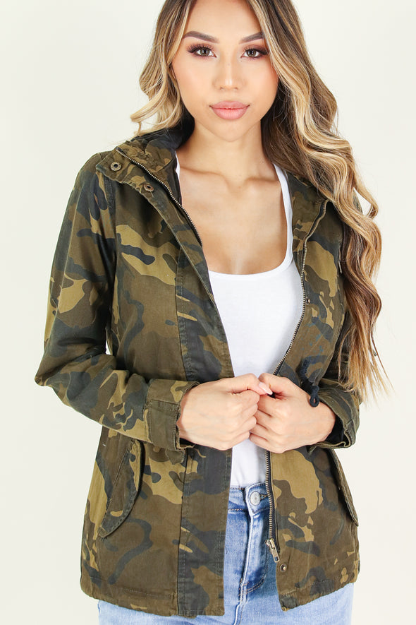 Jeans Warehouse Hawaii - ANORAK JACKETS - GRIND TIME ANORAK JACKET | By AMBIANCE APPAREL