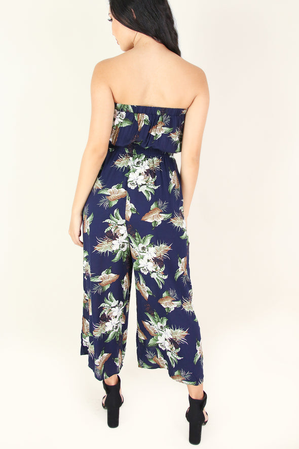 Jeans Warehouse Hawaii - PRINT CASUAL JUMPSUITS - WHAT'S THE CHANCE JUMPSUIT | By I JOAH