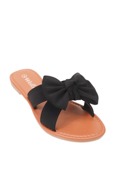 Jeans Warehouse Hawaii - FLATS SLIP ON - RUDE GIRL SANDAL | By WELLS FOUNTAIN INC.