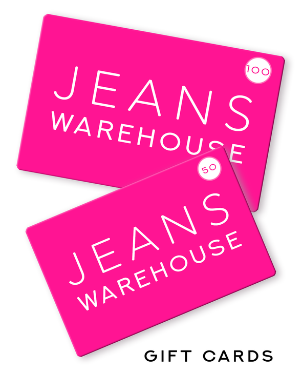 Jeans Warehouse Hawaii - GIFTCARD - Online Gift Card | By JEANS WAREHOUSE
