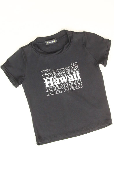 Jeans Warehouse Hawaii - S/S PRINT TOPS 2T-4T - HAWAII SWEETIE TEE | 2T-4T | By LUZ