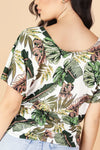 Jeans Warehouse Hawaii - SS PRINT - ON VACATION TOP | By PAPERMOON/ B_ENVIED