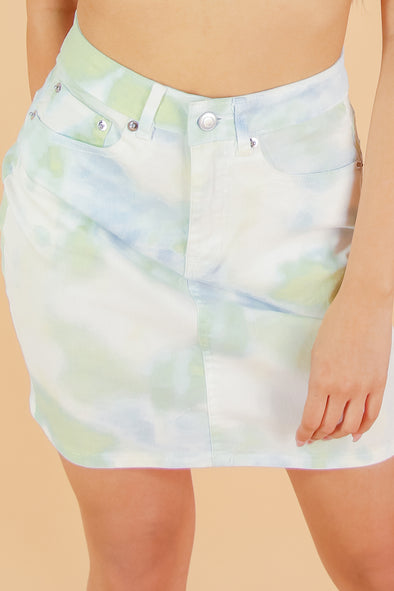 Jeans Warehouse Hawaii - DENIM SHORT SKIRT - HOTTIE BODY SKIRT | By TASHA