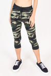 Jeans Warehouse Hawaii - PRINT KNIT CAPRI'S - BOOM BOOM JOGGERS | By LA 12ST