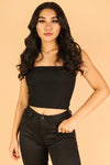 Jeans Warehouse Hawaii - TANK/TUBE SOLID BASIC - SINGLE AGAIN CROP TOP | By BETTER BE