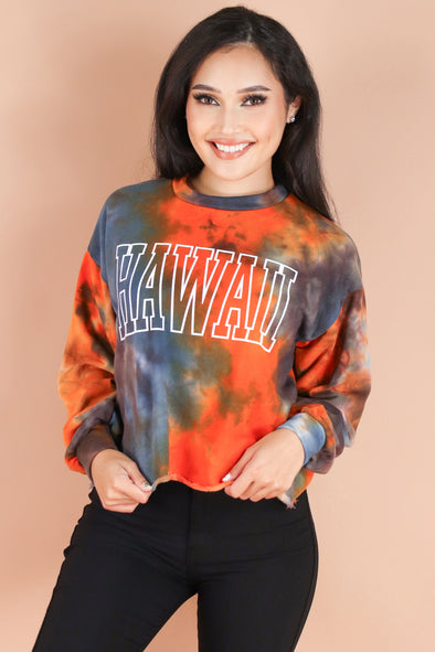 Jeans Warehouse Hawaii - L/S SCREEN - HAWAII SWEATSHIRT | By ROCK & ROSE COUTURE