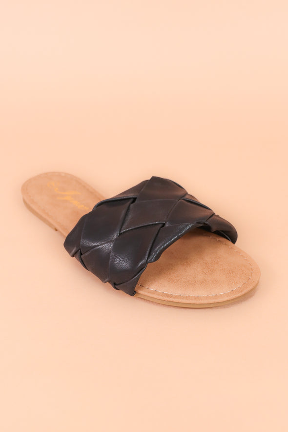 Jeans Warehouse Hawaii - FLATS SLIP ON - OFFICIAL SANDAL | By REDSHOELOVER LLC