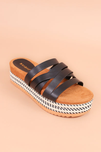 "Jeans Warehouse Hawaii - WEDGES 3"" & UNDER - DON'T STARE WEDGE 