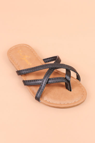 Jeans Warehouse Hawaii - 9-4 OPEN FLAT - MAUI SANDAL | SIZES 9-4 | By REDSHOELOVER LLC