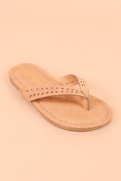 Jeans Warehouse Hawaii - 1-8 OPEN FLATS - JUST DOING ME SANDAL | SIZES 1-8 | By REDSHOELOVER LLC