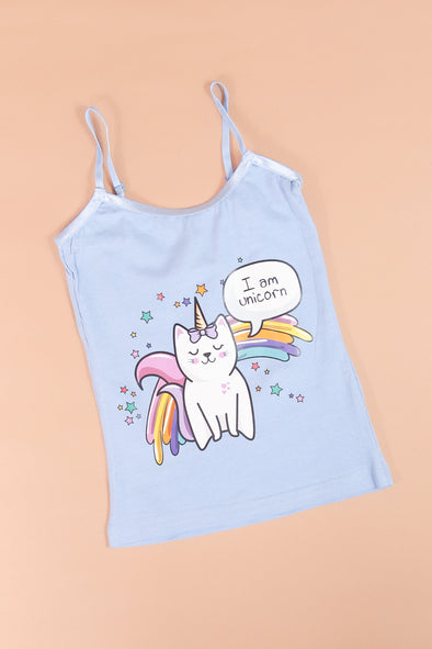 Jeans Warehouse Hawaii - S/L PRINT TOPS 4-6X - I AM UNICORN TOP | 4-6X | By CUTIE PATOOTIE