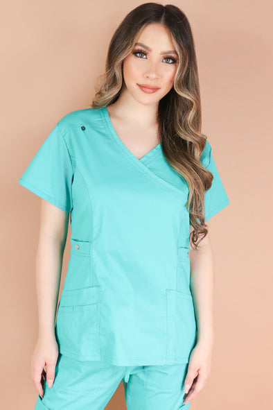 Jeans Warehouse Hawaii - JUNIOR SCRUB TOPS - YOU'RE APPRECIATED SCRUB TOP | By MEDGEAR