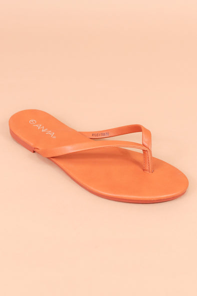 Jeans Warehouse Hawaii - FLATS SLIP ON - WHAT'S ON YOUR MIND SANDAL | By DND FASHION INC.